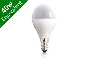 Mini Globe E14 5.5W (40W) Frosted LED Light Bulb