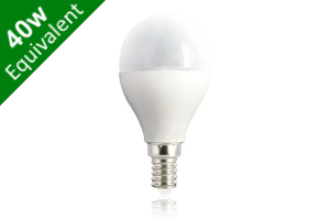 Mini Globe E14 6.5W (40W) Frosted LED Light Bulb