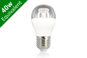 Mini Globe E27 6.5W (40W) Clear LED Light Bulb