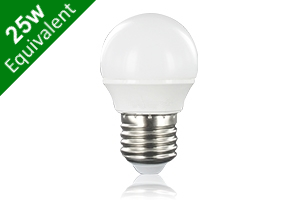 Mini Globe E27 3.5W (25W) Frosted LED Light Bulb