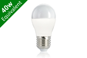 Mini Globe E27 5.5W (40W) Frosted LED Light Bulb