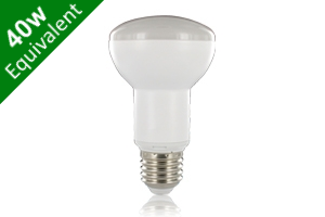 -- R63 Reflector E27 5.5W (40W) Frosted LED Spotlight Light Bulb
