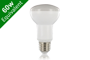R63 Reflector E27 9.5W (60W) Frosted LED Spotlight Light Bulb