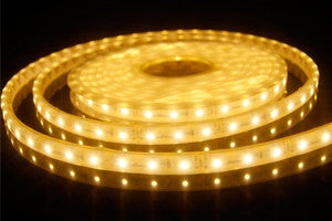 Flexible Strip IP65 Splashproof 12W-m 3000K Warm LED Light