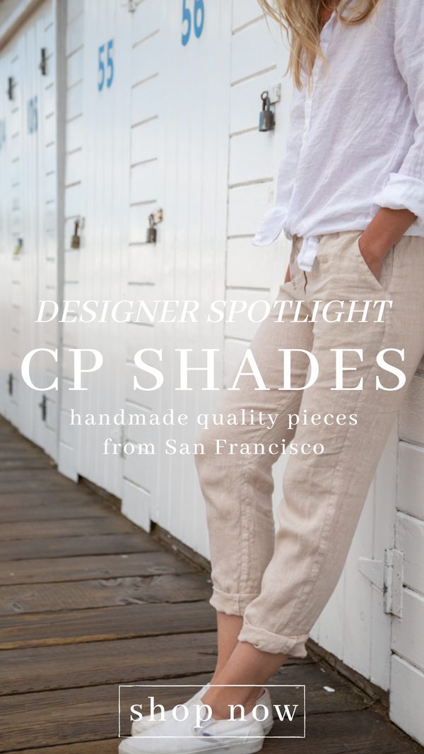 HAMPTON LINEN PANT CP SHADES SUMMER BEACH PANTS