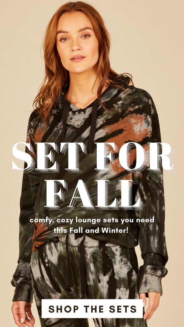 Lounge Sets For Fall And Winter