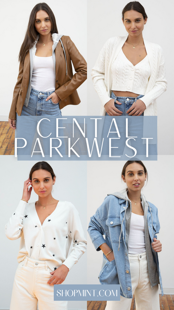 CENTRAL PARK WEST SPRING COLLECTION OF KNITS AND JACKETS