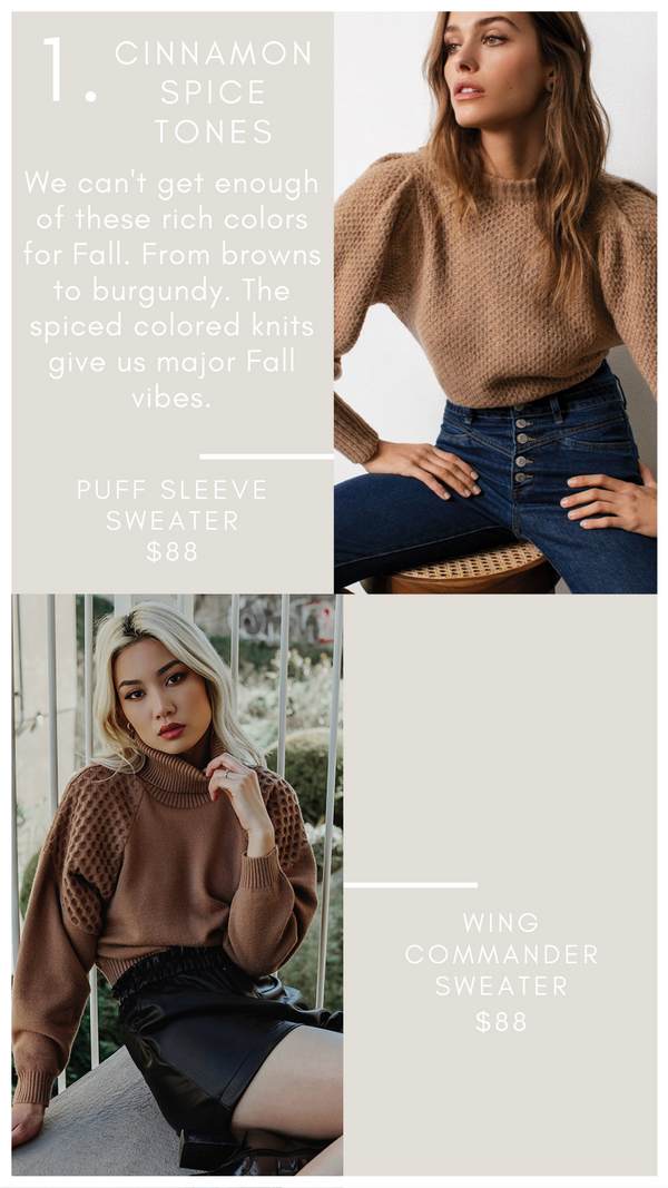 PUFF SLEEVE SWEATER ELAN WARM AND COZY FALL KNITS