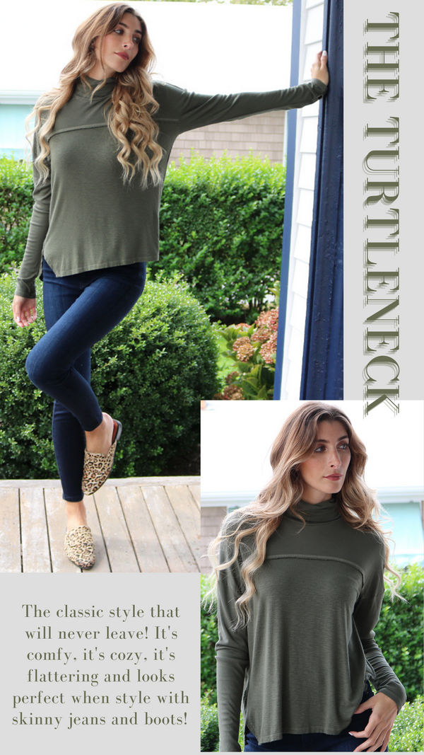 The Comfy Cozy Fall Turtleneck