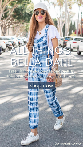 INDIGO TIE DYE OVERALL BELLA DAHL COMFORTABLE BLUE AND WHITE SPRING JUMPSUITS