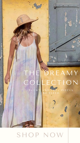 THE TULUM MAXI 9SEED FLOWY AND COLORFUL SPRING MAXI DRESSES