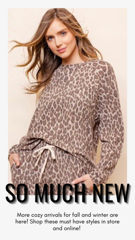 INTO THE WILD CREW GILLI SUPER SOFT MATCHING LEOPARD SET