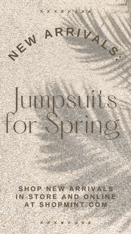 JUMPSUITS MINT SPRING COMFORTABLE TRAVEL JUMPSUITS ROMPERS