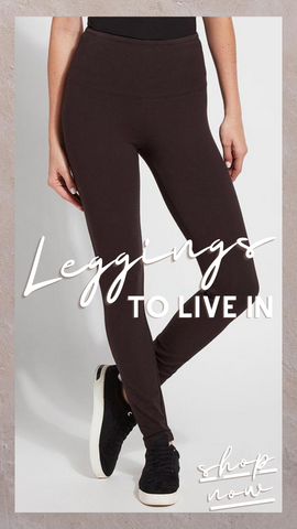 FLATTERING COTTON LEGGING LYSSE' COTTON SPANDEX STRETCH PANTS