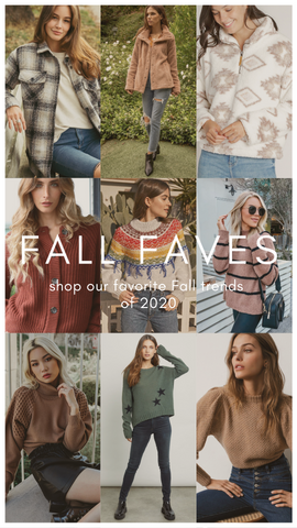 NEW ARRIVALS MINT CLOTHING BOUTIQUES FALL TRENDS FOR 2020