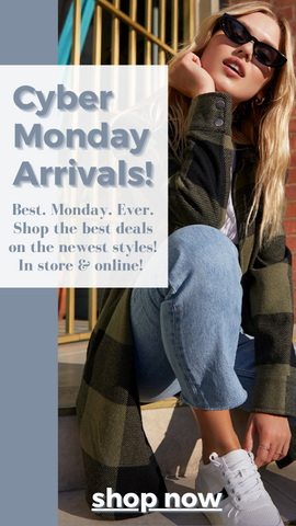 NEW ARRIVALS MINT HOLIDAY CYBER MONDAY GIFTS