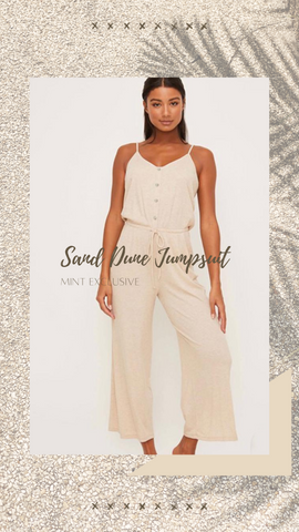 SAND DUNE JUMPSUIT LUSH SUPER SOFT COOL SPRING TRAVEL ROMPERS