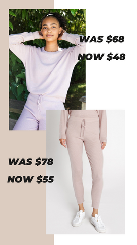 CALVIN THERMAL TOP THREAD AND SUPPLY MATCHING COMFY SETS