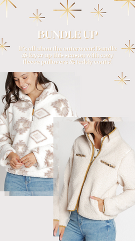 WALKING POETRY PULLOVER THREAD AND SUPPLY COZY WINTER PULLOVERS TOPS