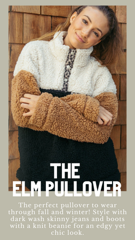 ELM PULLOVER THREAD AND SUPPLY COZY FALL TOPS