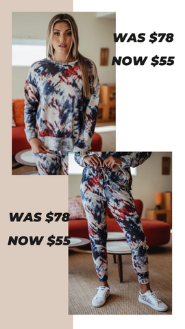 COZY SWEATSHIRT VERONICA M MATCHING SETS