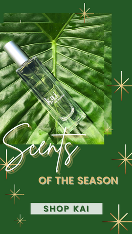 KAI EAU DE PARFUM BODY LOTION AND SCENT PERFECT HOLIDAY GIFTS