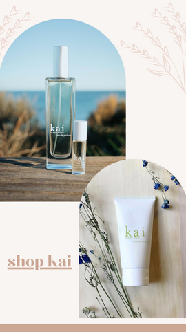 KAI HAND LOTION BODY LOTION PERFUME OIL FRAGRANCE GIFTS