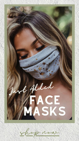 MASKS FACIAL MASKS STYLISH FABRIC PROTECTIVE FACE MASKS