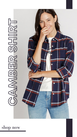 CAMBER SHIRT THREAD AND SUPPLY HEAVY PLAID FLANNEL FALL SHIRTS