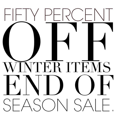 Winter Clothing Sale Designer Clothing