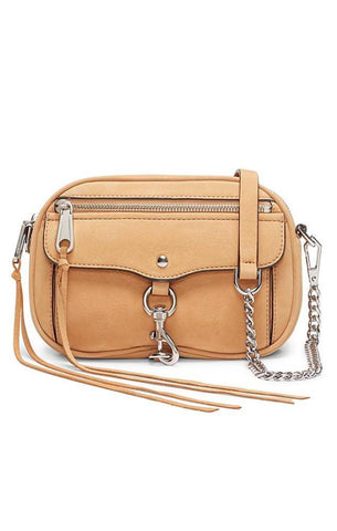 REBECCA MINKOFF HANDBAGS LEATHER BLYTHE CROSS BODY BAG