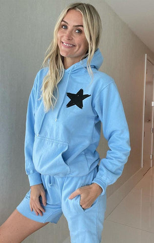 KEEP IT COOL HOODIE SIX FIFTY BABY BLUE SHORTS SETS