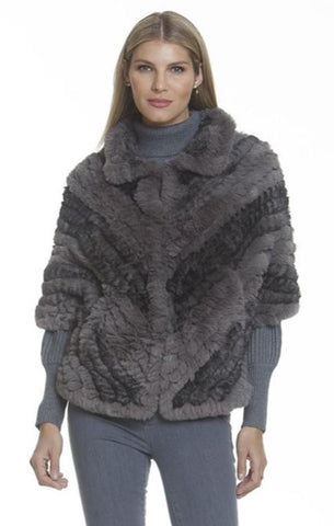BUTTERFLY JACKET METRIC FAUX FUR WARM HOLIDAY JACKETS
