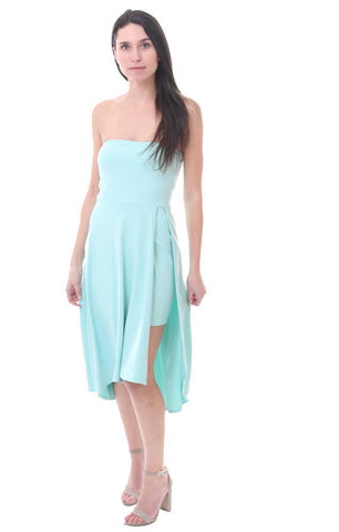 Amanda Uprichard Strapless Summer Lightweight Dress