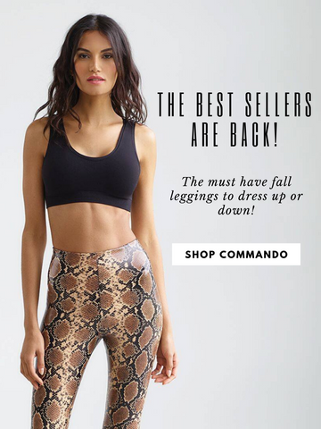 Commando Leggings High Waisted Animal Printed Leopard Cheetah Print Skinny Legging