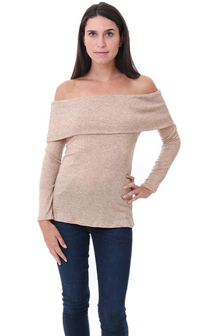 Veronica M Off The Shoulder Sweaters