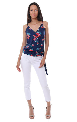 veronica m tops printed sleeveless tank blouse