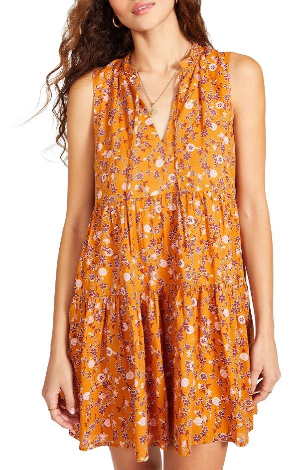 bb Dakota Sunny Disposition Dress
