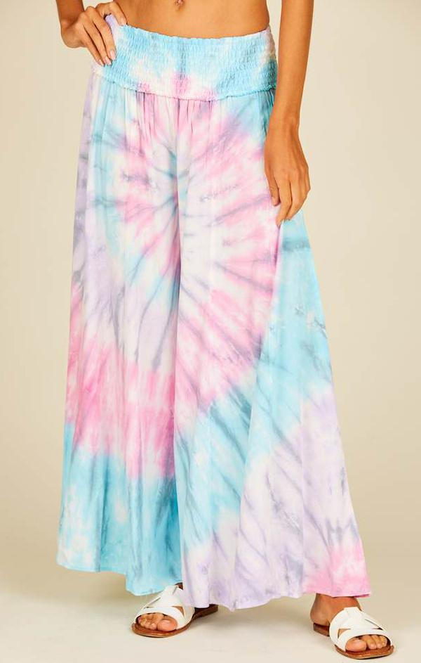 resort tie dye lounge beach pants