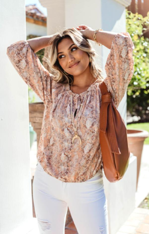 womens summer flowy boho top for white jeans