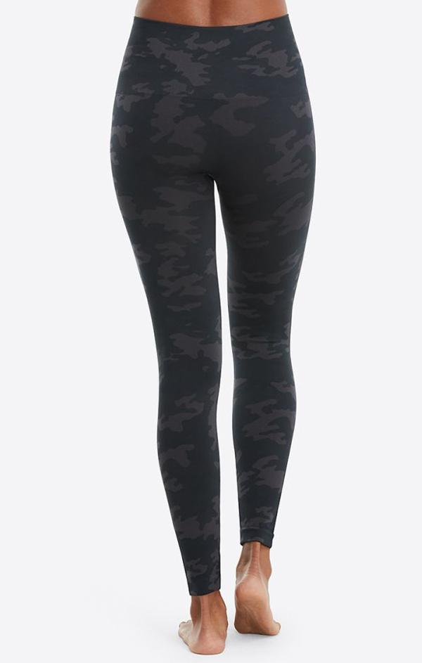 camo print Spanx leggings