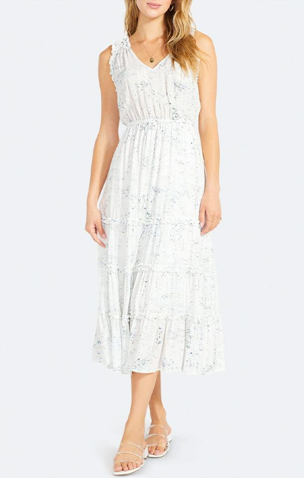 white midi sundress by bb dakota