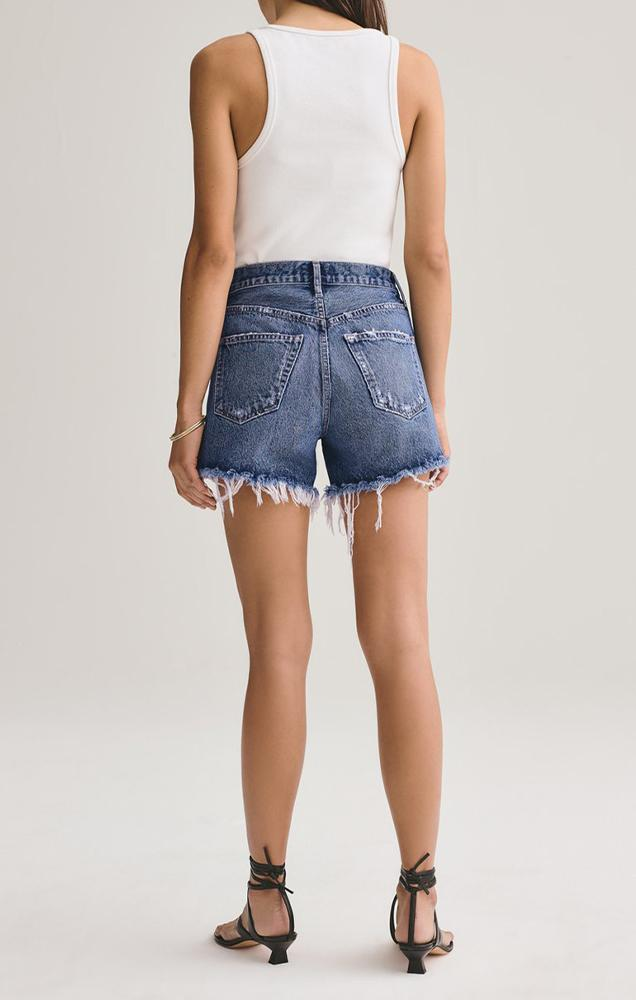 cut off vintage denim shorts