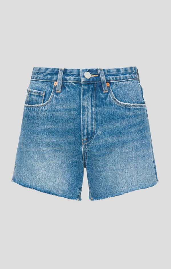 classic cutoff denim summer shorts