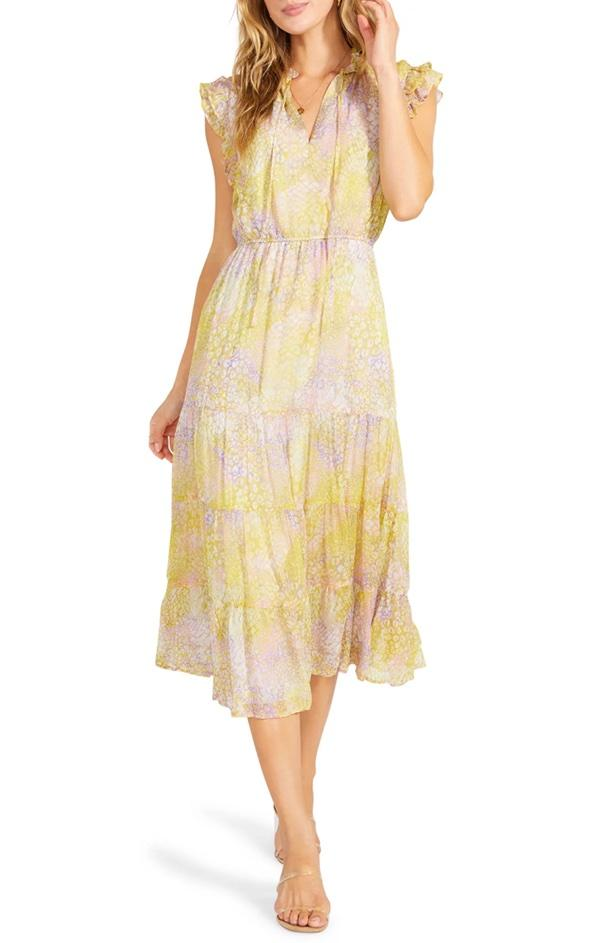 flowy v neck sundress by bb dakota