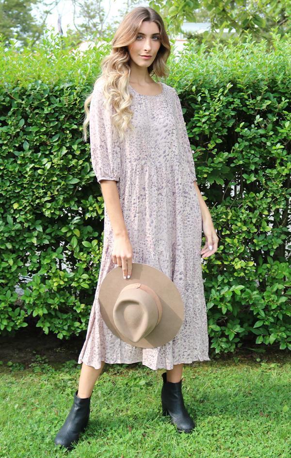 slouchy oversize midi dress for fall