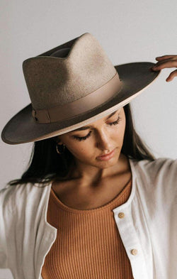 oatmeal rancher hat by gigi pip