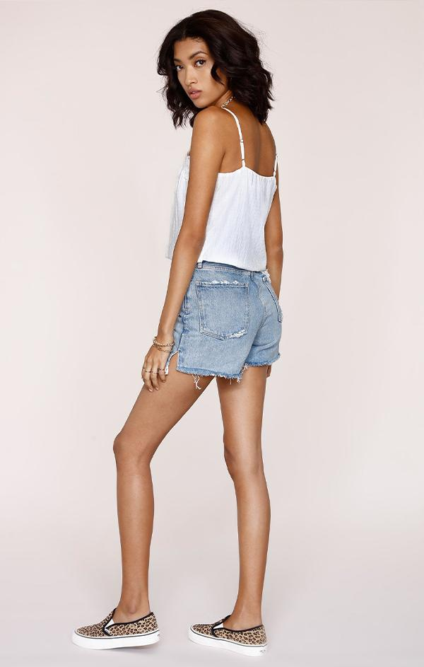 basic white lace cami tank for summer