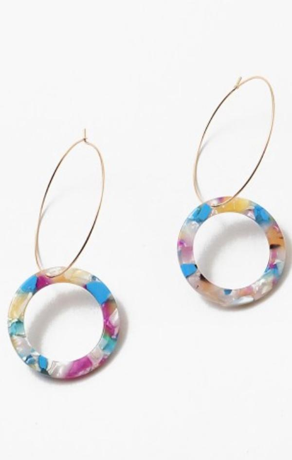Loops On Hoops Earrings