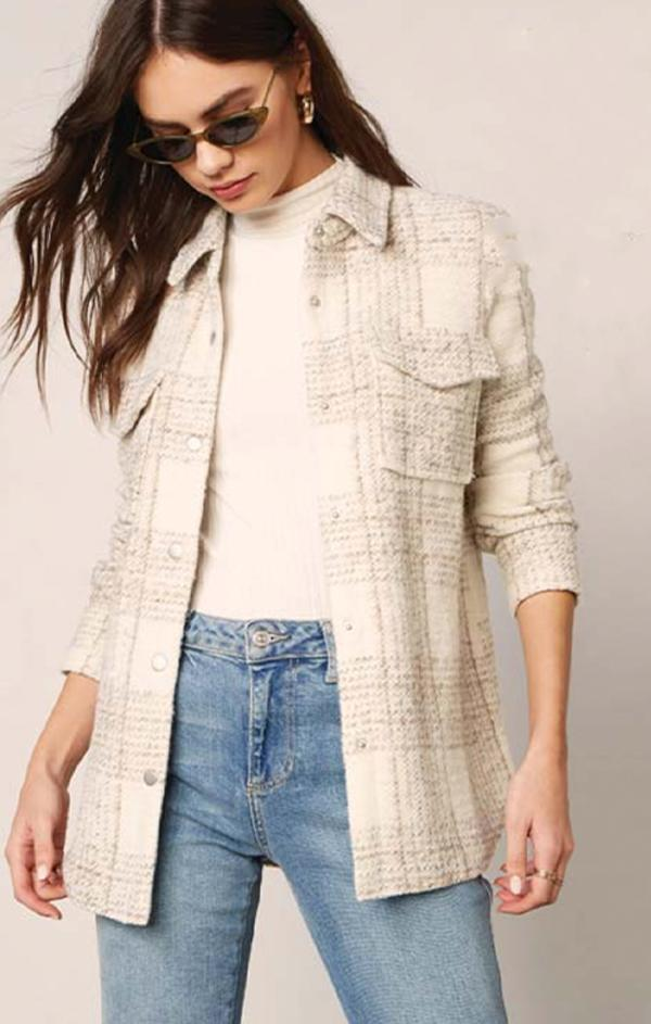 button front fall jacket